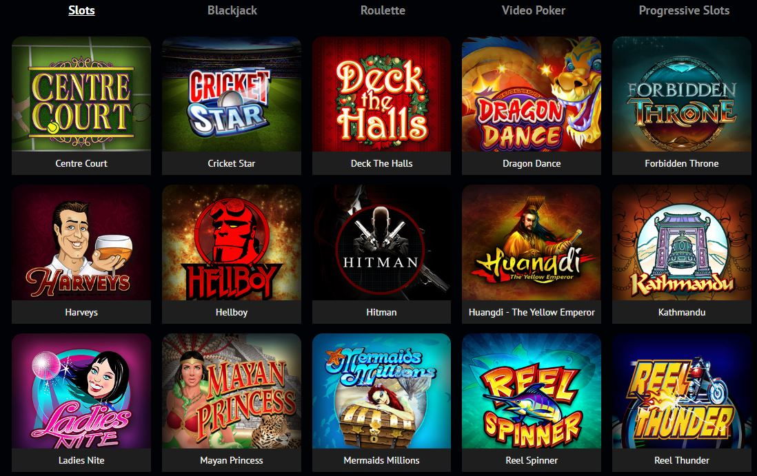 Spin Palace Casino and Live Dealers screenshot