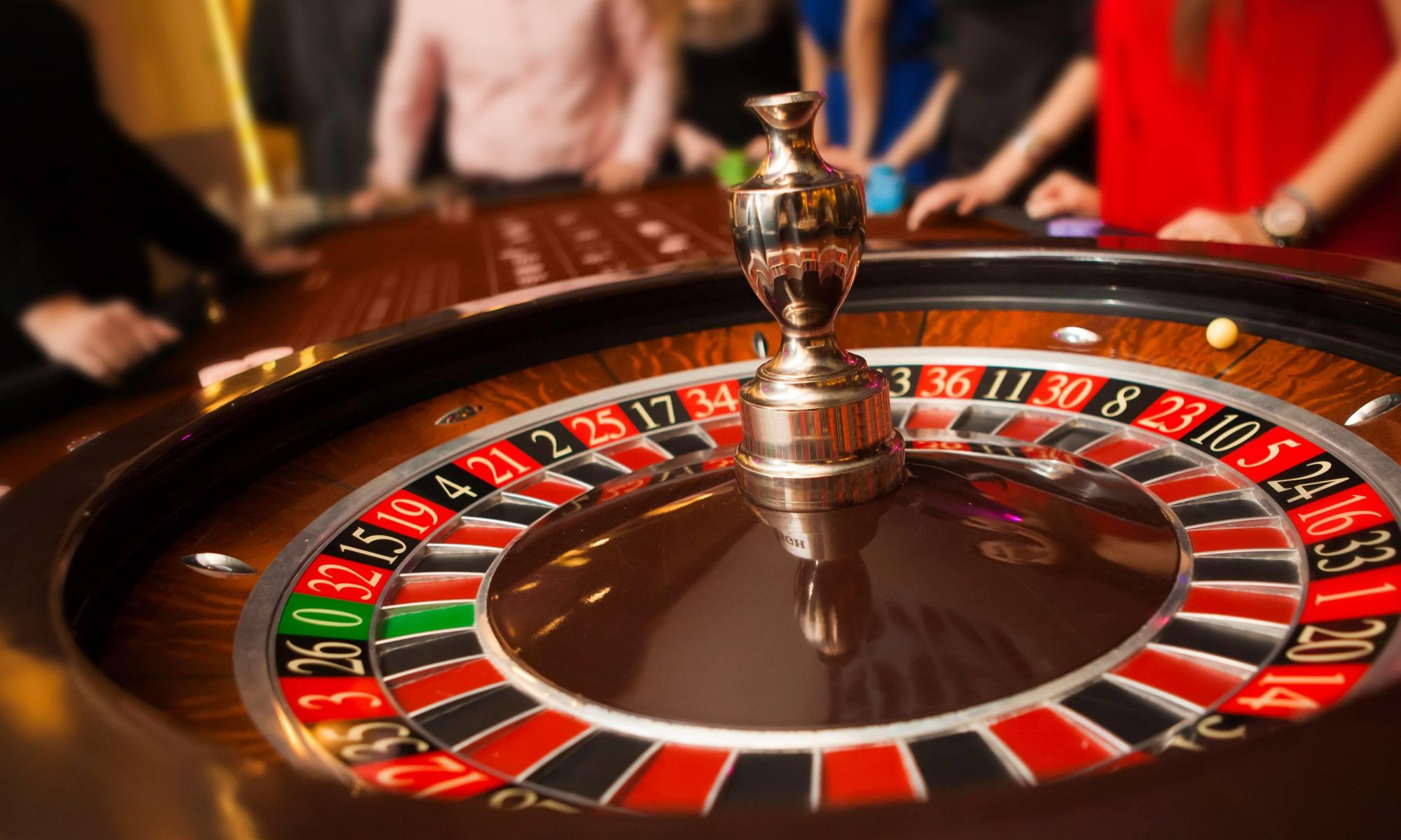 Casino roulette is rigged